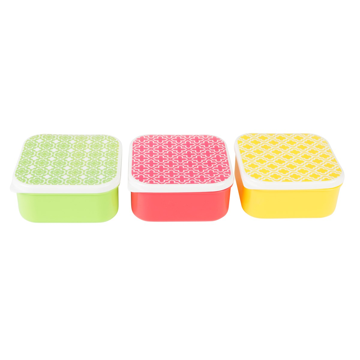 Moroccan Geometric Square Lunch Box Assorted